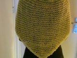 sjaal in parelsteek achterkant