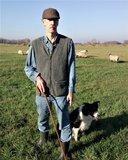 herder met vest