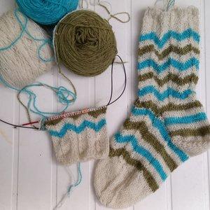 patroon sokken zeebries