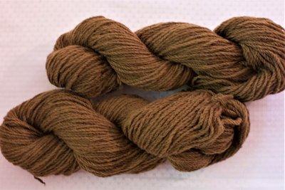 Kempenwol bruin 2-draads